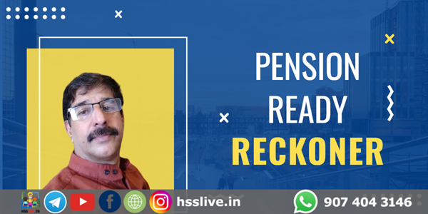 Pension Ready Reckoner