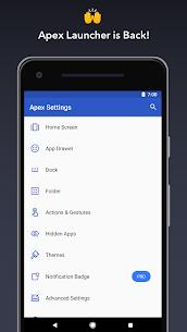 Apex Launcher Pro v4.9.9 Final Paid APK