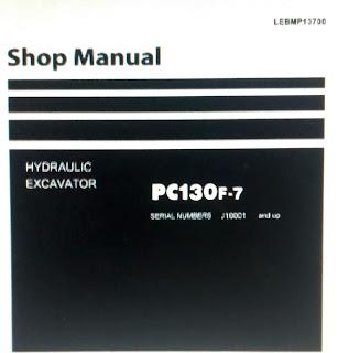 Shop Manual pc130F-7 Excavator Komatsu