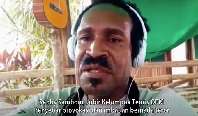 Selalu Tebar Teror, Tokoh Adat Papua Nilai Sebby Sambom Melawan Hukum dan Meresahkan Warga
