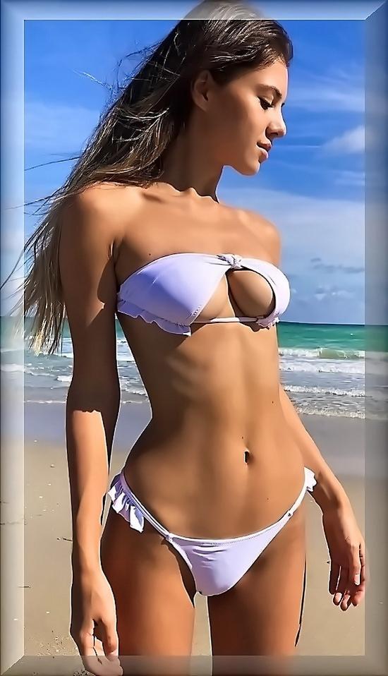 Sexy Thick Bikini Girl. Thong Bikini Models Damn Big Ass Seksi Babes