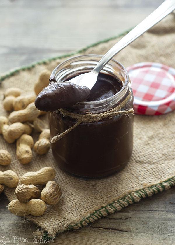 Crema de cacao y cacahuete #saludable #vegan