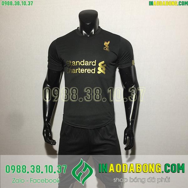 Áo bóng đá câu lạc bộ Liverpool 2020 màu đen