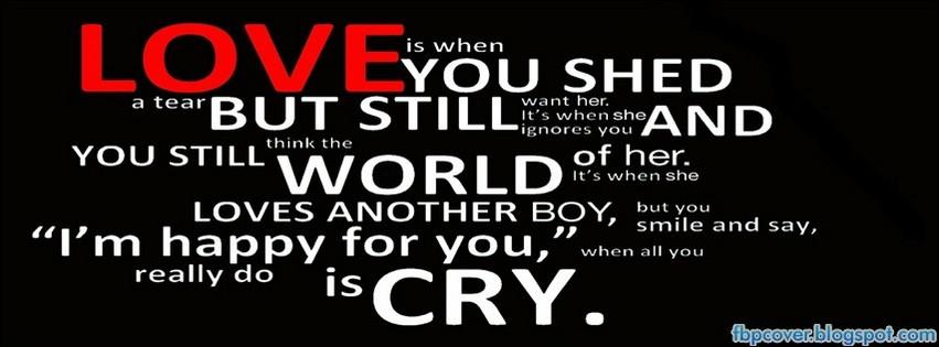Love Quote Facebook Cover Timeline Fbpcover Fbpcover Blogspot Com