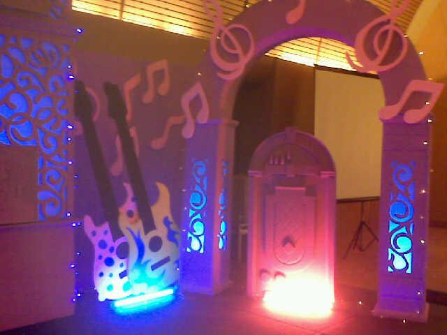 dekorasi sweet 17, Dekorasi ulang tahun
