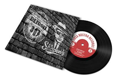 The single's sleeve features the bands' logos on a brick wall (The Skapones' logo is a cartoon version of Al Capone; Detroit Riddim Crew's logo is of the front of a Vespa scooter).