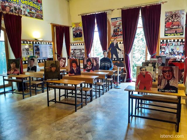 Çamlıca Lisesi, Hababam Sınıfı Müzesi; 6-A Edebiyat Sınıfı