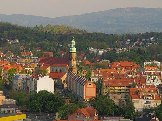 Kościół pw. św. Erazma i Pankracego w Jeleniej Górze z 1552 roku.