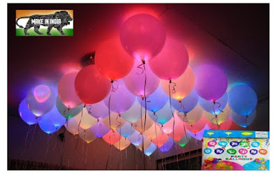 Jiada LED Balloons Set Of 25