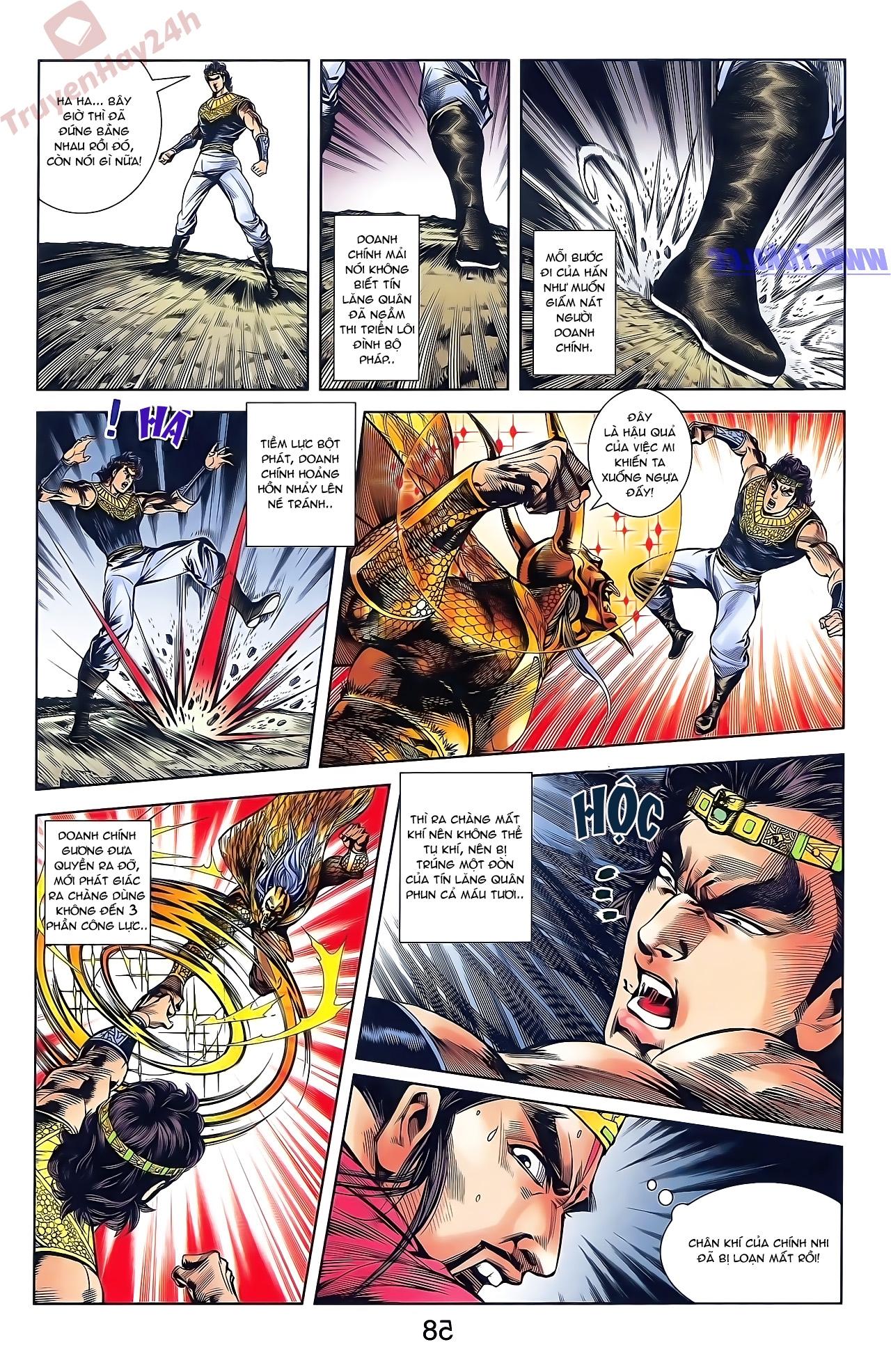 Tần Vương Doanh Chính chapter 49 trang 12