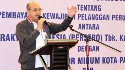 Perumda Air Minum Kota Padang Tandatangani PKS dengan BRI Wilayah Kota Padang