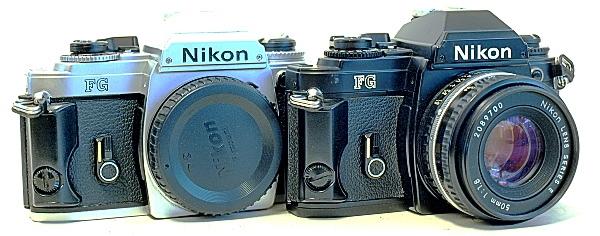 Nikon FG, pair