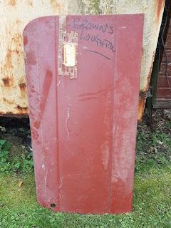 Browns Loughton RHS door skin for Herald