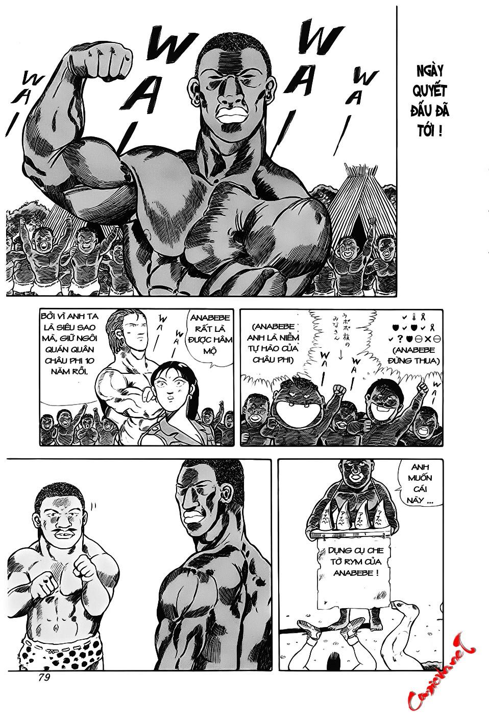 Chúa rừng Ta-chan chapter 10 trang 5