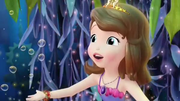 PRINCESS SOFIA: If only she could see no matter where