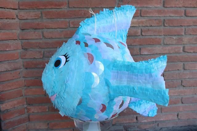 piñata pez diy