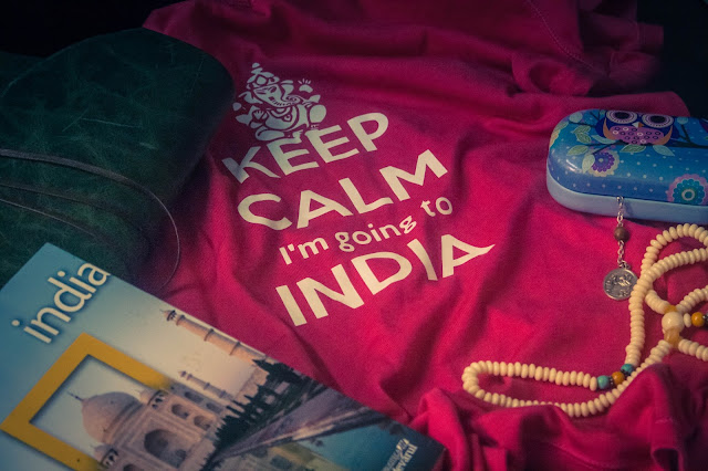 A part of my luggage to India