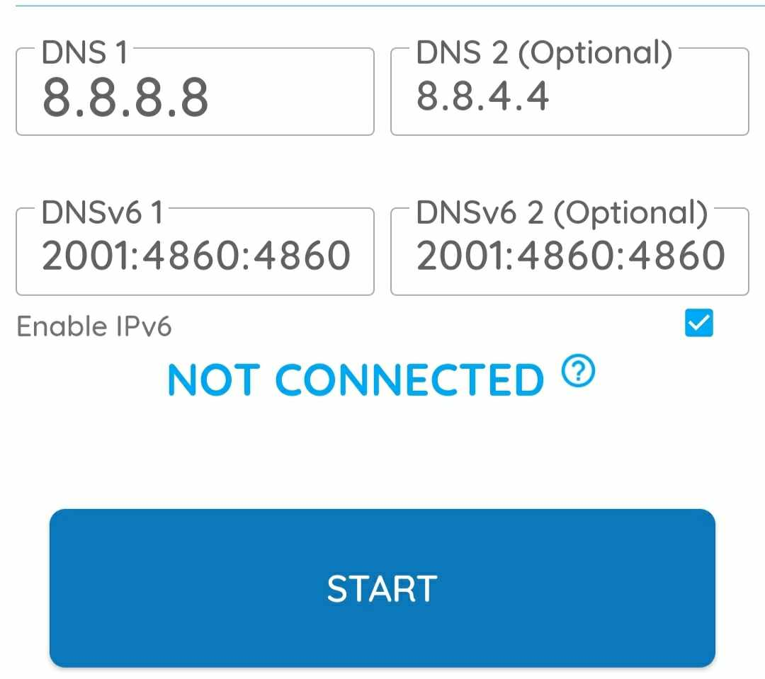 dns changer connect