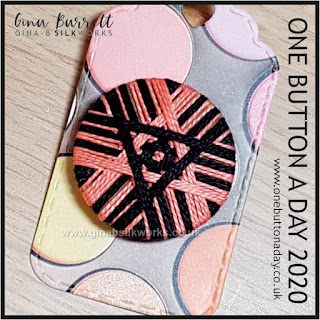 One Button a Day 2020 by Gina Barrett - Day 150 : Target