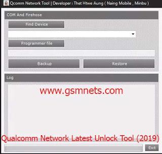 Qualcomm Network Latest Unlock Tool (2019)