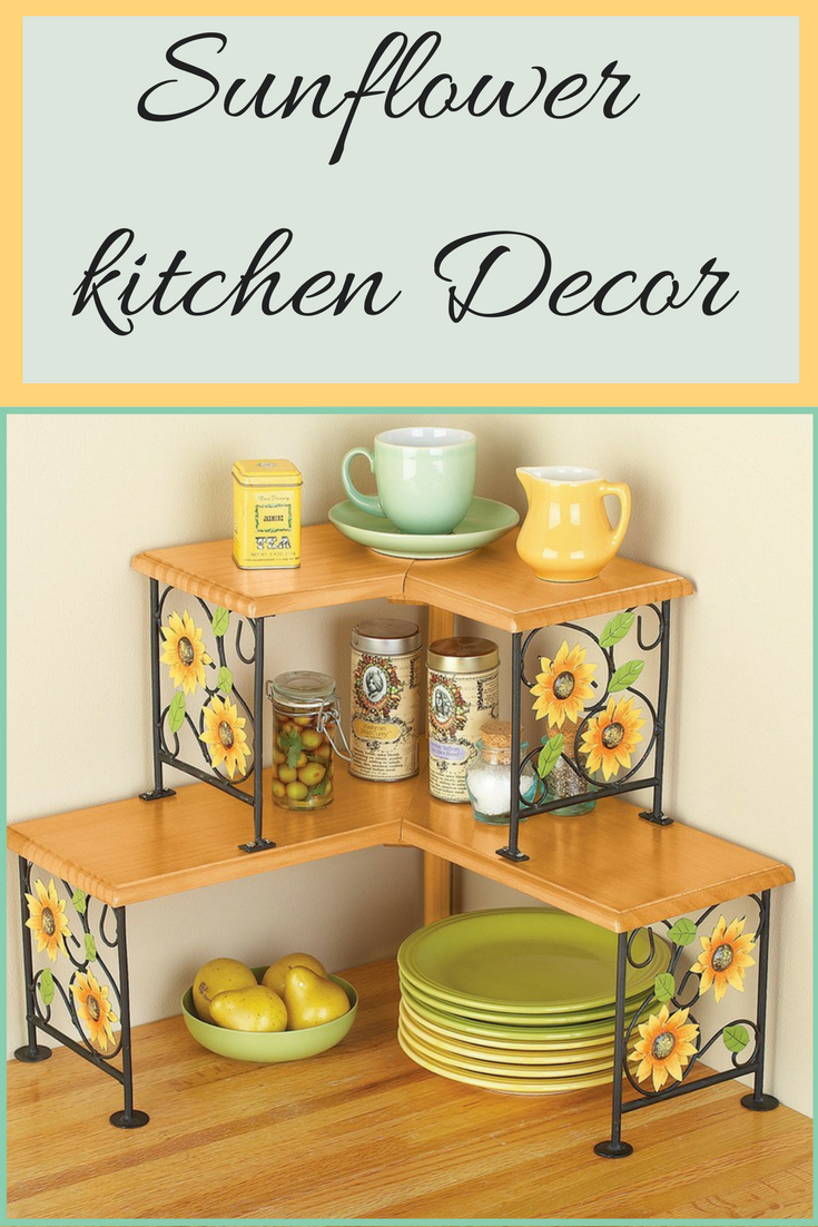 Attractive Sunflower Kitchen Motif - Bathroom ideas designs ... on