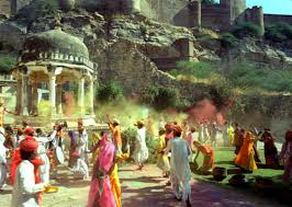 Happy Holi Pictures in Rajasthani