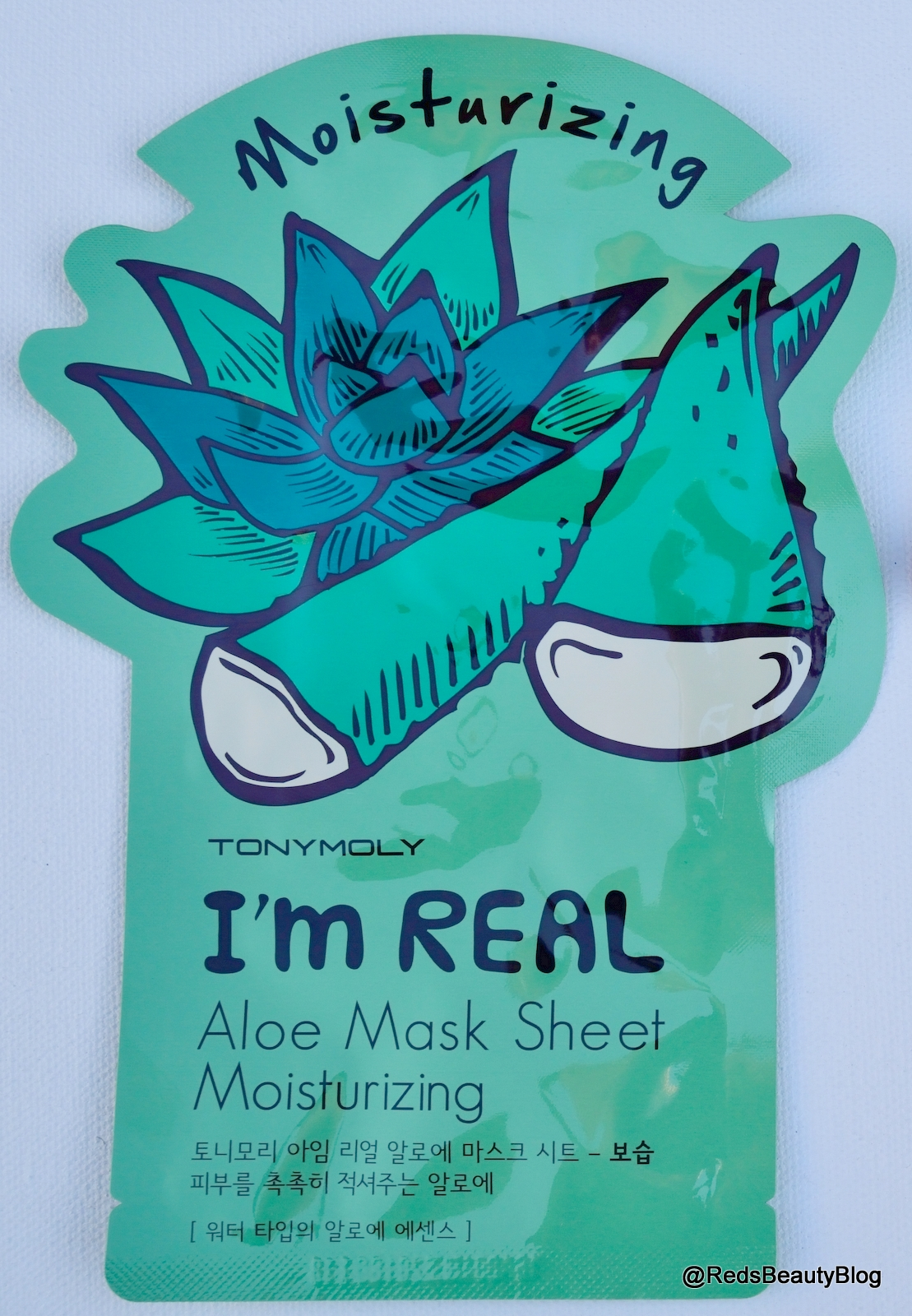 a picture of Tony Moly Im Real Aloe Sheet Mask