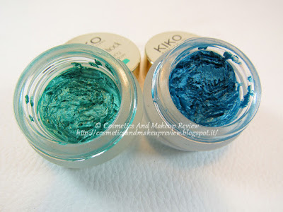 KIKO Colour Shock Long Lasting Eyeshadow n.07, n.08