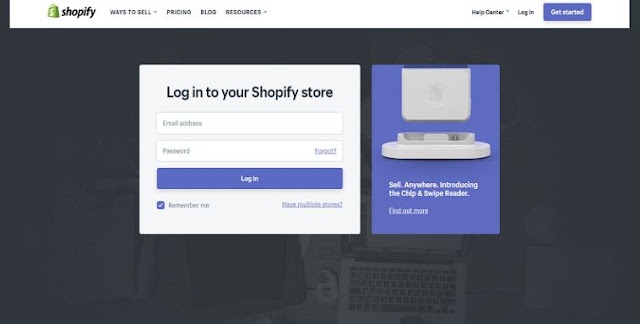 shopify store login problems shop logging in solutions