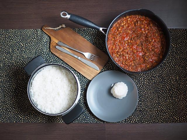 chili sin carne soijarouheesta