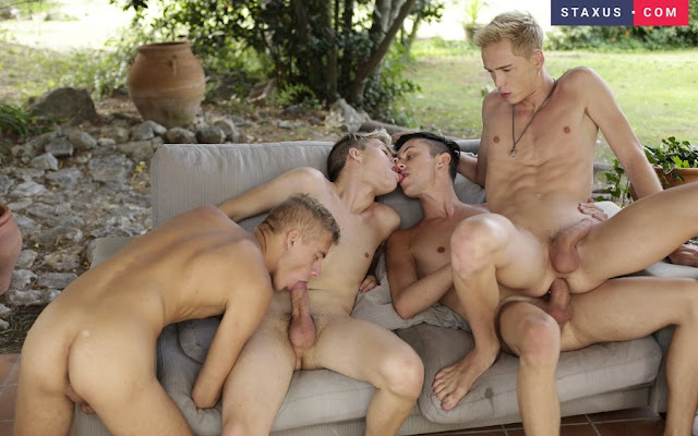 Try out Staxus for Tons of Gay twink Orgies- click