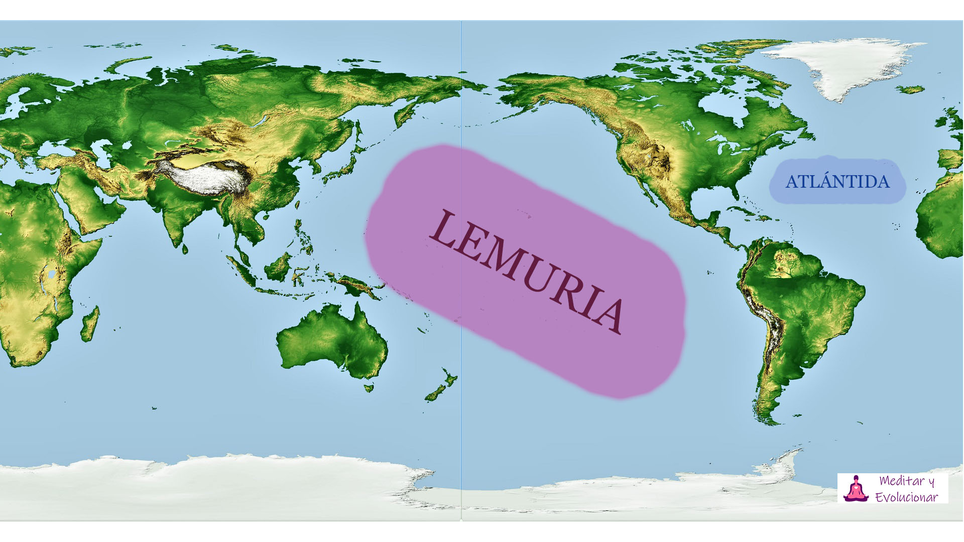 Lemuria y Atlántida civilizaciones perdidas