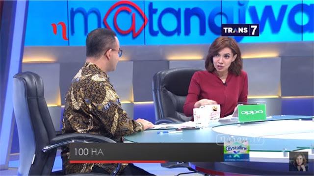 """Tampil di Mata Najwa, Anies Cetak """"Home Run"""""""