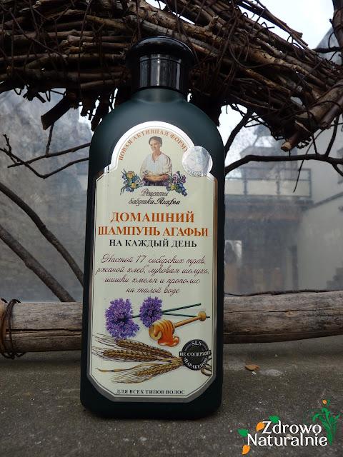 Pierwoje Reshenie - Bania Agafi - Codzienny szampon ziołowy do pielęgnacji wszystkich typów włosów