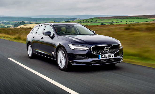 Volvo V90 front view