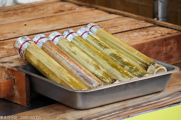 福記刈包豆干包|日月潭伊達邵美食|豆干刈包一份就飽了|也有素食口味
