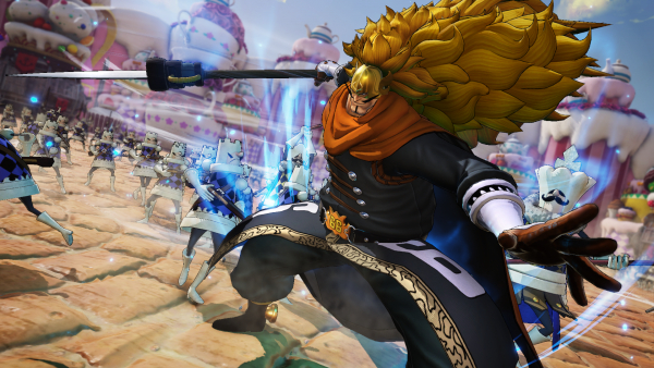 One Piece: Pirate Warriors 4 DLC character Vinsmoke Judge First Trailer Revealed