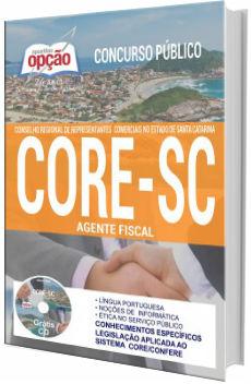 Apostila concurso CORE-SC 2017 Agente Fiscal