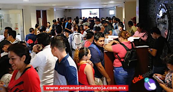 FERIA DE RECLUTAMIENTO LABORAL DE LA CROC OFRECIÓ 694 VACANTES