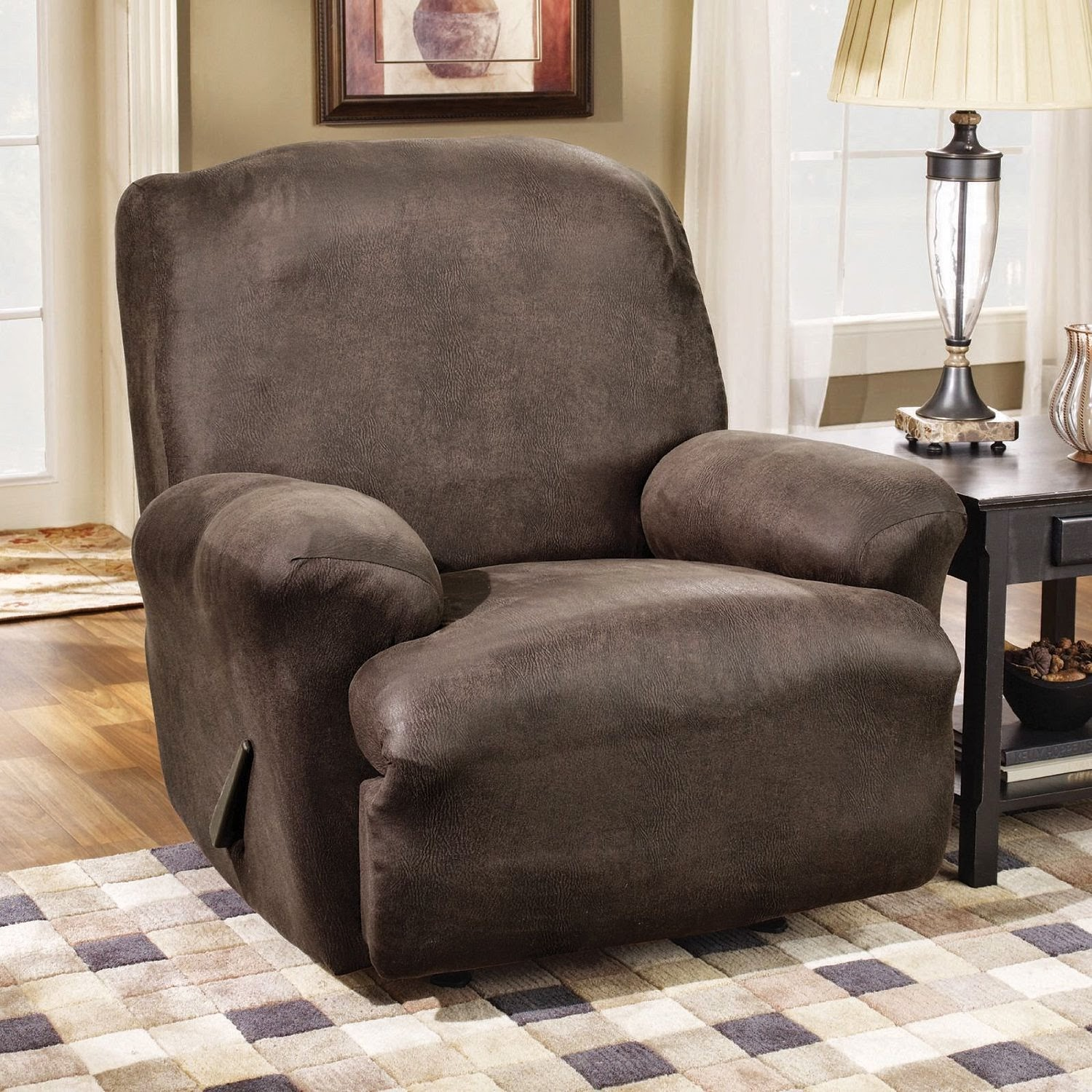 Sure Fit Recliner Slipcovers Leather & Couch Slipcovers For Reclining Sofa - Laura Williams islam-shia.org