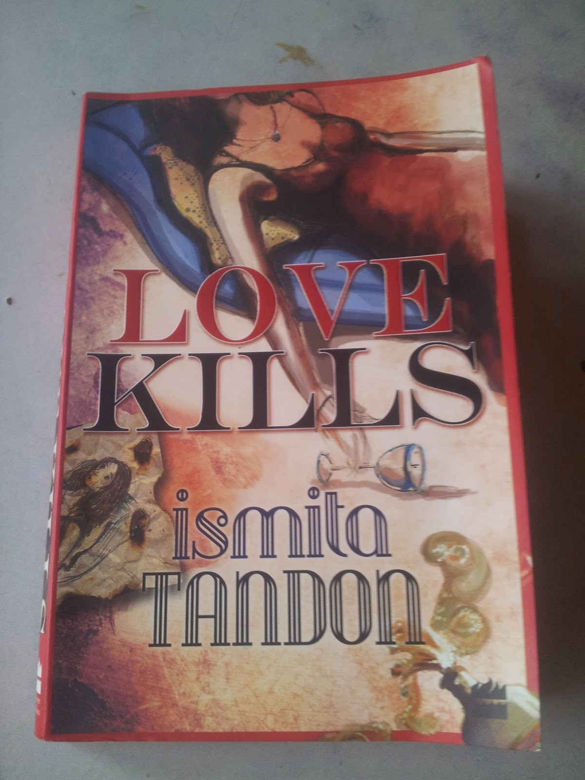 Love kills  book cover