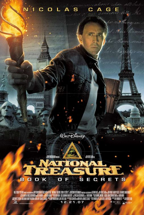National Treasure Book of Secrets movie poster