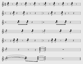 gambar ritem musik swing pada not balok
