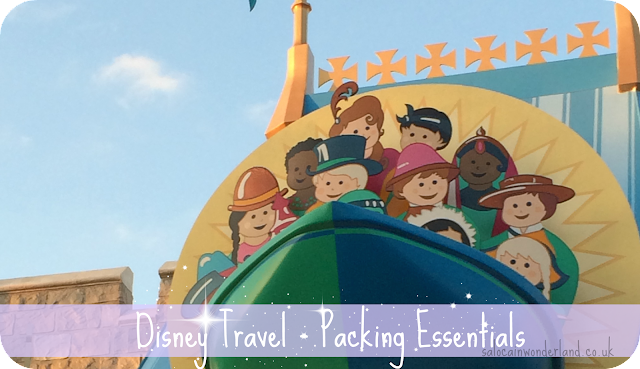 disney travel packing essentials