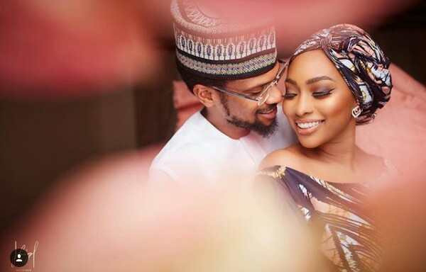 Stunning pre-wedding photos of Fateema Ganduje and Idris Abolaji Ajimobi