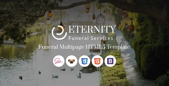 Best Funeral Services Website Template