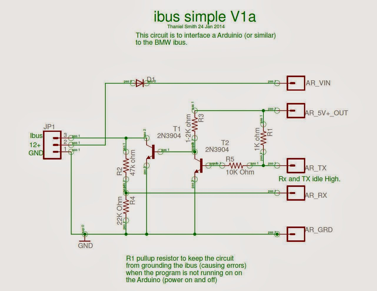 I/Kbus interface options for Arduino | BMW CAN bus, I/Kbus,and