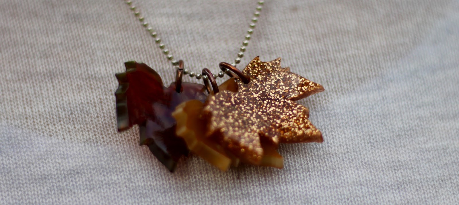 Tatty Devine Leaf Necklace | Over 40 | Fake Fabulous
