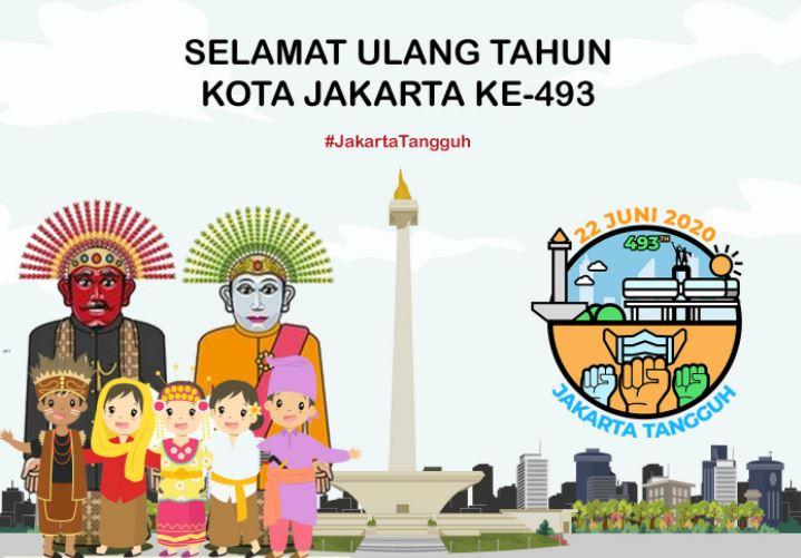 5 Gambar Ucapan Hut Dki Jakarta Ke 493 Tahun 2020 Keren Terbaru Review Teknologi Sekarang