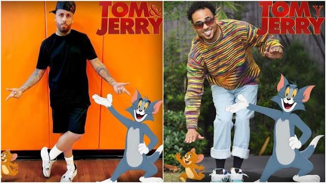 """Nicky Jam y Ozuna en nueva película de """"Tom y Jerry"""""""